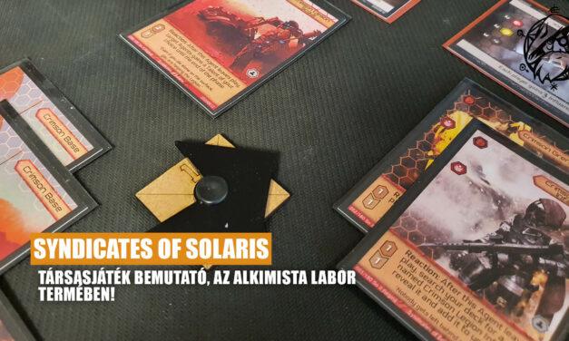 Syndicates of Solaris