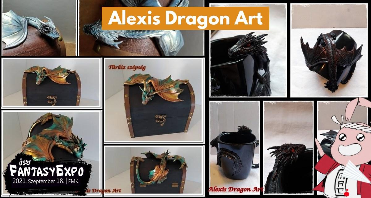 AnimePiac: Alexis Dragon Art