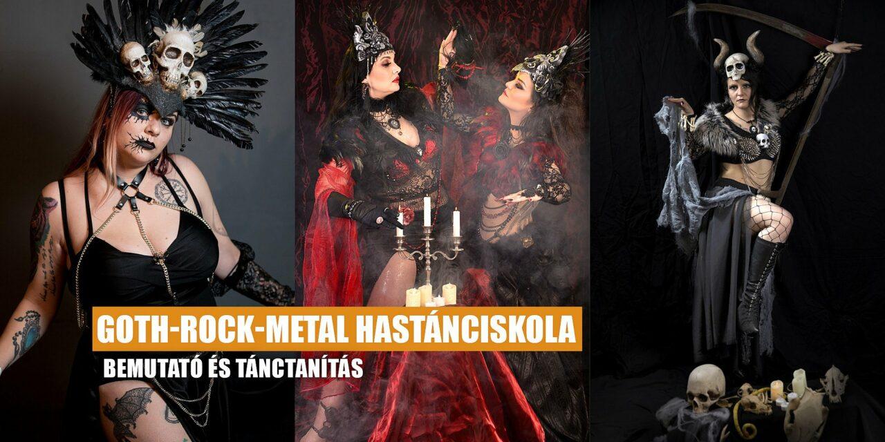 Goth-Rock-Metal Hastánciskola – bemutató és tánctanítás